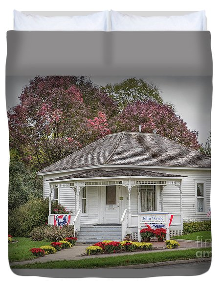 John Wayne Birthplace Duvet Cover