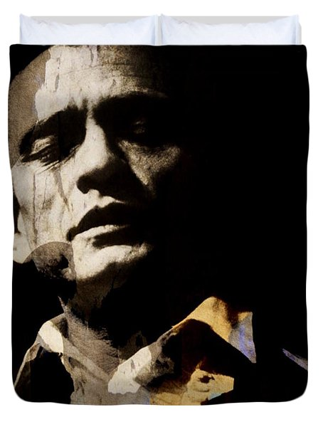 Johnny Cash - I Walk The Line  Duvet Cover
