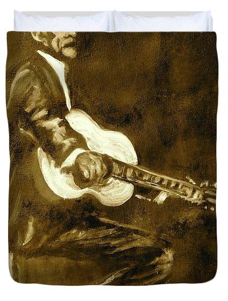 Johnny Cash V Duvet Cover