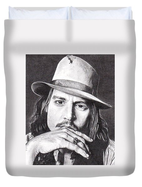 Johnny Depp Duvet Cover