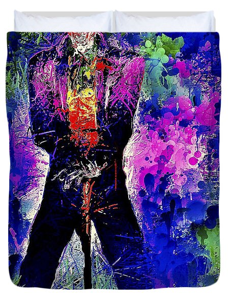 Joker Night Duvet Cover