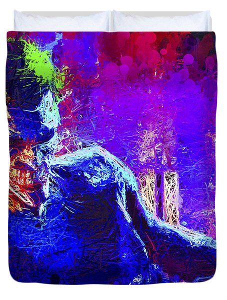 Joker's Grin Duvet Cover
