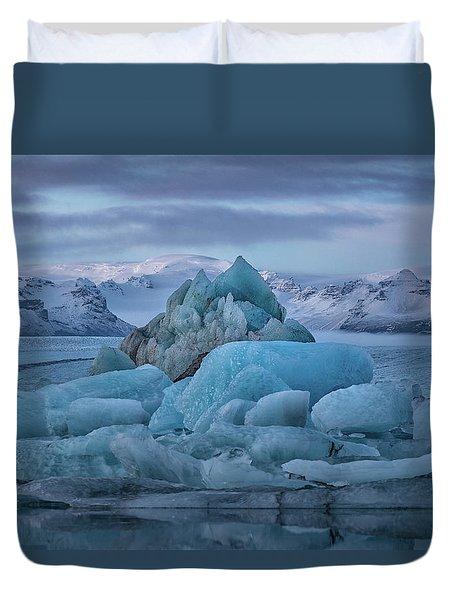 Jokulsarlon Iceland Duvet Cover