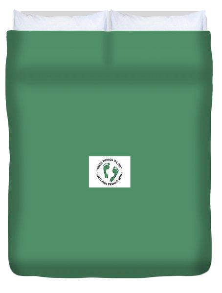 Jolly Green Duvet Cover