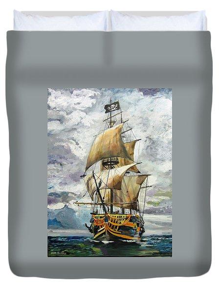 Jolly Roger Duvet Cover