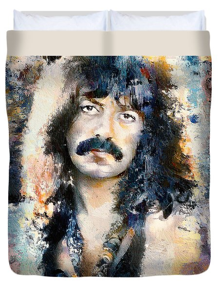 Jon Lord Deep Purple Portrait 6 Duvet Cover