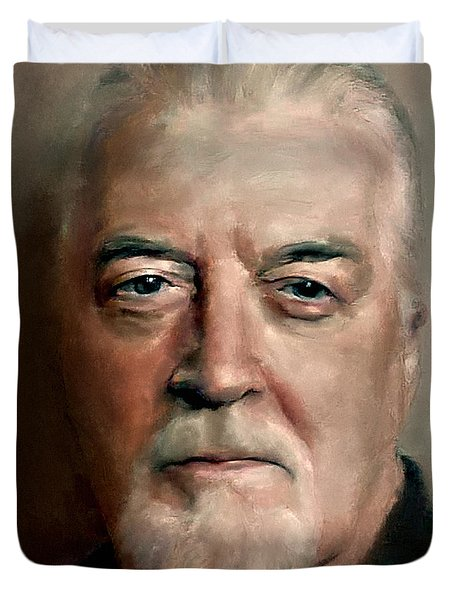 Jon Lord Deep Purple Portrait 8 Duvet Cover