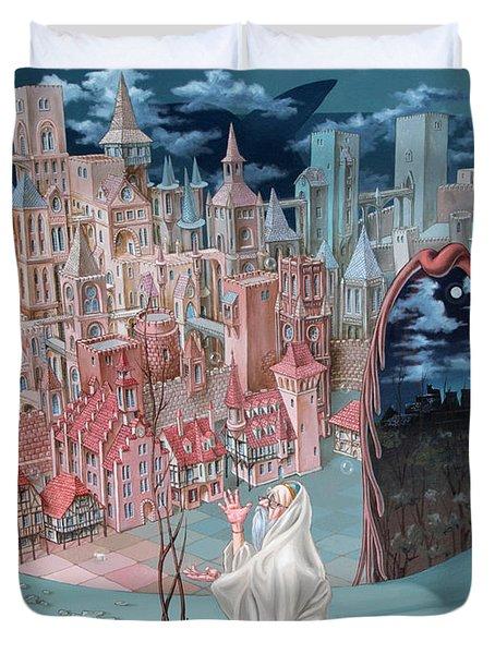 Jonah  Duvet Cover