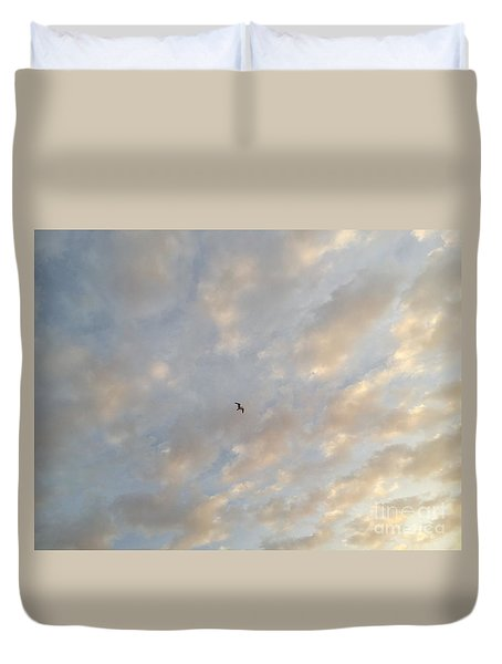 Jonathan Livingston Seagull Duvet Cover