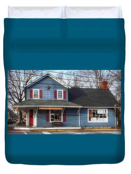 Jones Hardware, A Pequannock Legend Duvet Cover