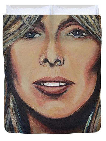 Joni Mitchell Duvet Cover