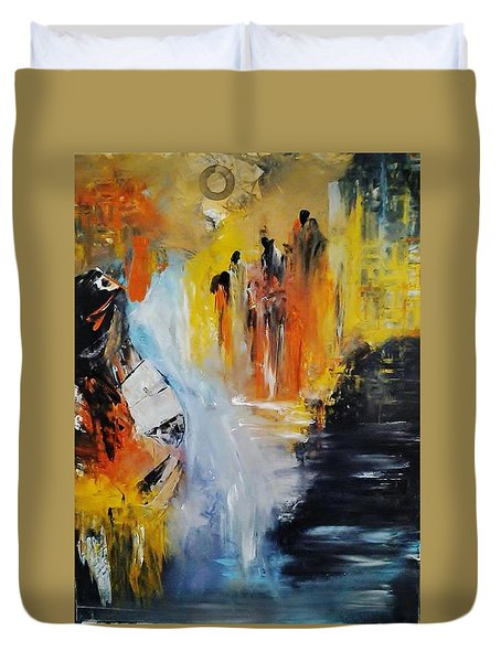 Jordan River Duvet Cover
