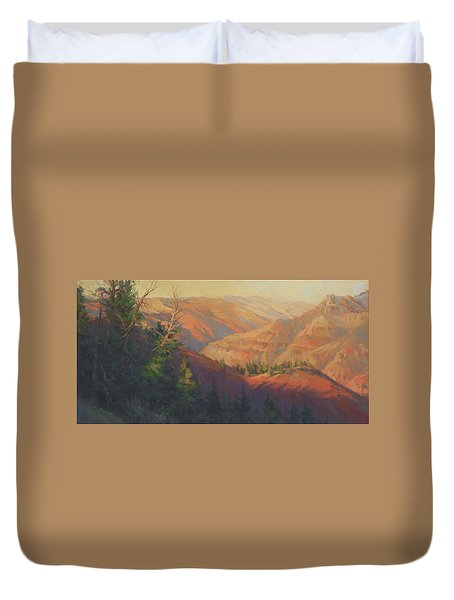 Joseph Canyon Duvet Cover