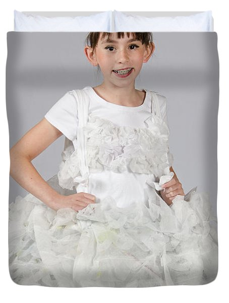 Josette In Dryer Sheet Dress Duvet Cover