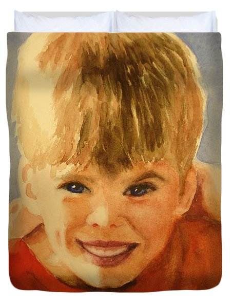 Joshua Duvet Cover by Marilyn Jacobson