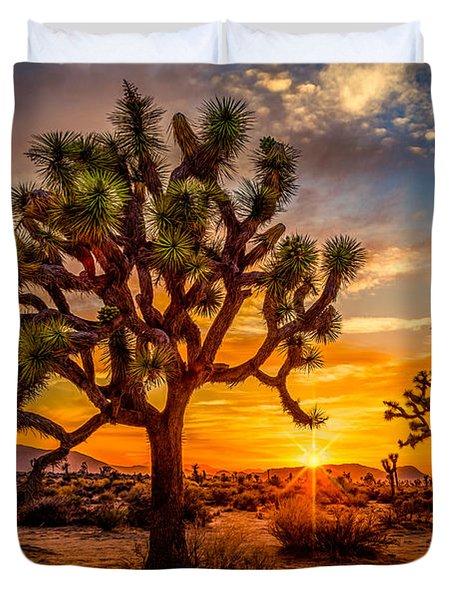 Joshua Tree Glow Duvet Cover