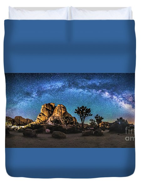 Joshua Tree Milkyway Duvet Cover