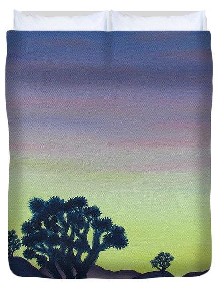Joshua Tree Sunset Duvet Cover