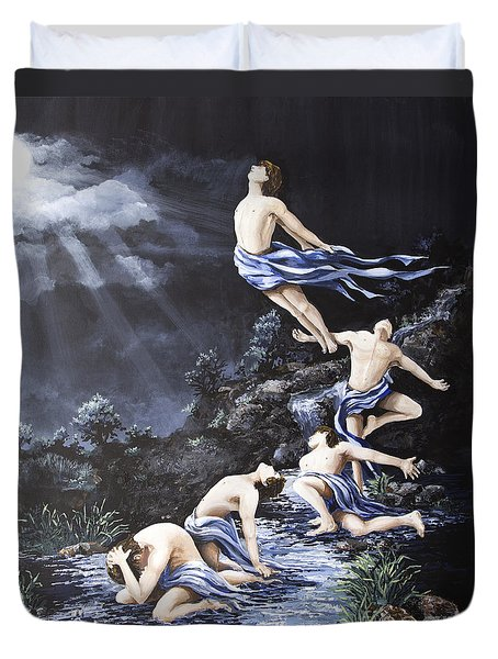 Journey Into Self Male Duvet Cover