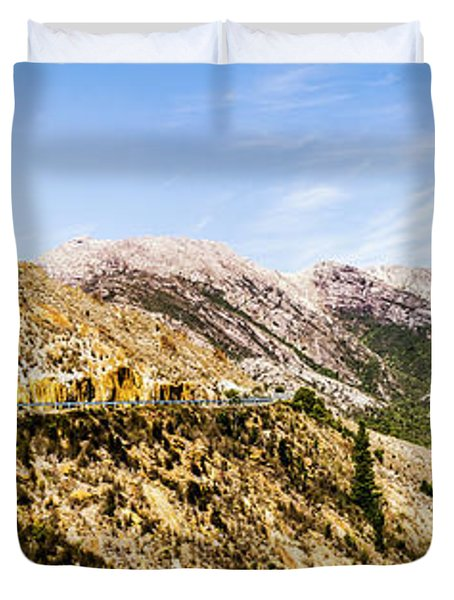 Journey Into The Wild West Duvet Cover