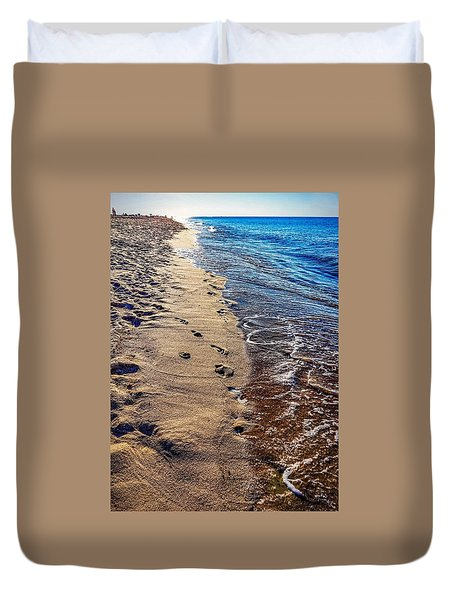 Duvet Cover featuring the photograph Journey by Kendall McKernon