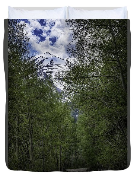 Journey Of Peace Duvet Cover