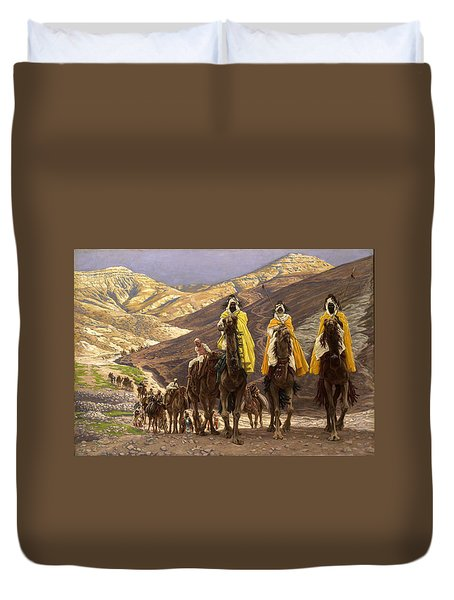 Journey Of The Magi Duvet Cover