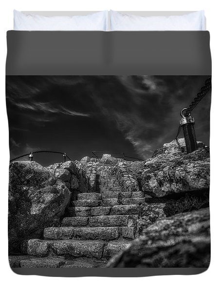 Journey To The Top Duvet Cover