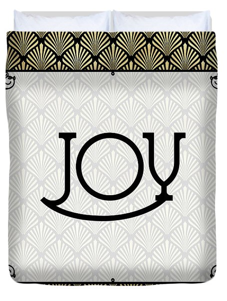 Joy - Art Deco Duvet Cover