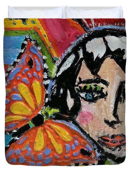 Joy - Vivid Vixen 10 Duvet Cover