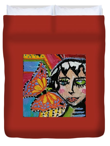 Joy - Vivid Vixen 10 Duvet Cover