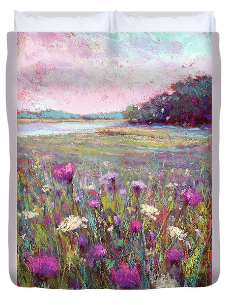 Joy In The Morning Duvet Cover