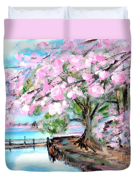Joy Of Spring. For Sale Art Prints And Cards Duvet Cover