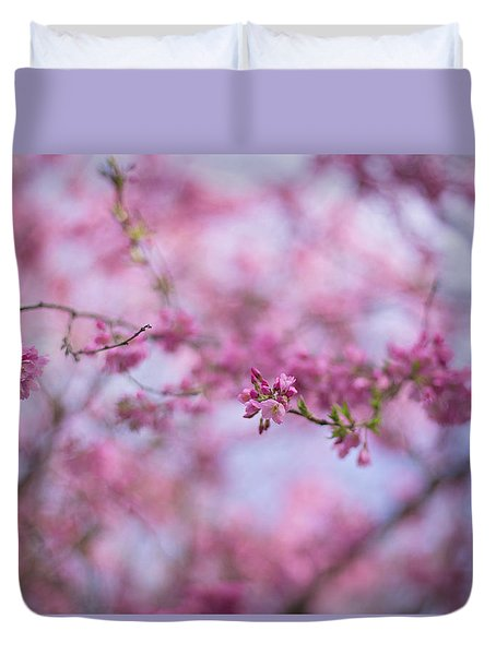 Joy Of Spring Duvet Cover