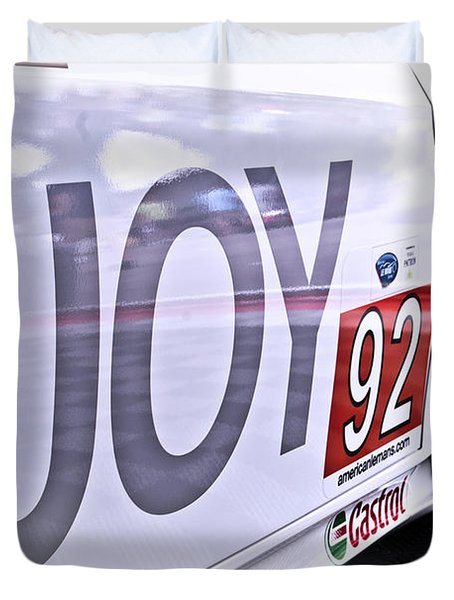 Joy Toy Duvet Cover by Scott Wyatt