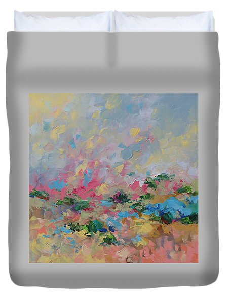Joyful Day Duvet Cover