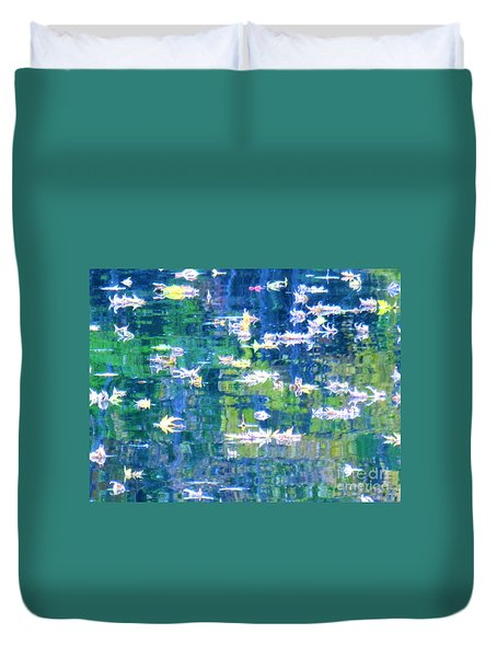 Joyful Sound Duvet Cover