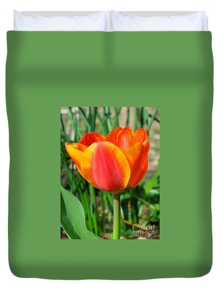 Joyful Tulip Duvet Cover