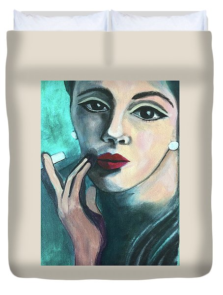 Silently Judging You Duvet Cover