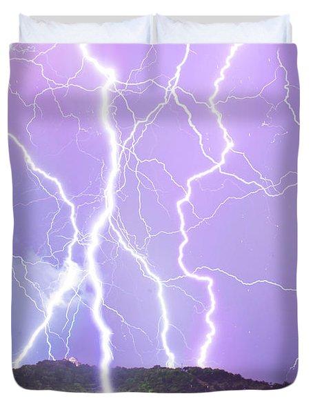 Judgement Day Lightning Duvet Cover