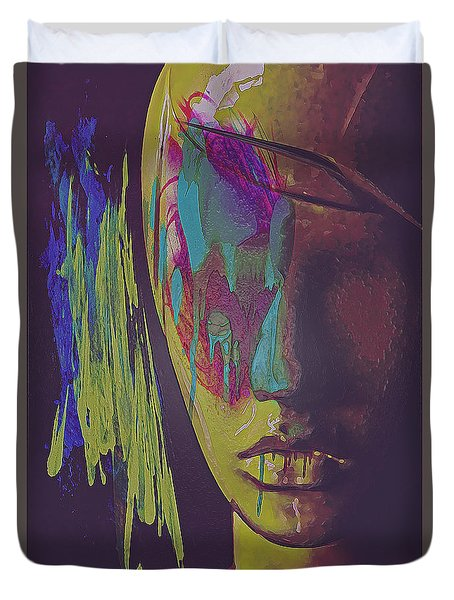 Judgement Figurative Abstract Duvet Cover