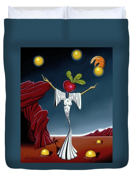 Juggling Act Duvet Cover