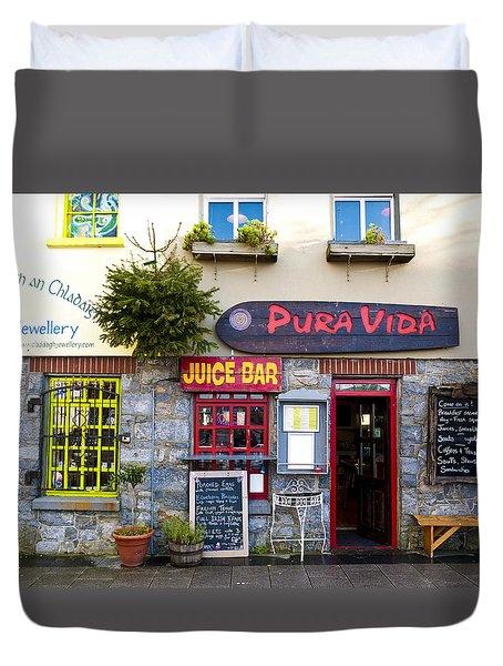 Juice Bar Duvet Cover by Rae Tucker
