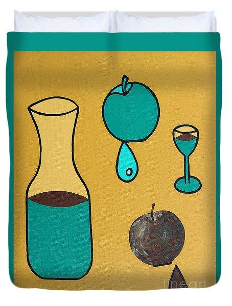 Juice Duvet Cover by Patrick J Murphy