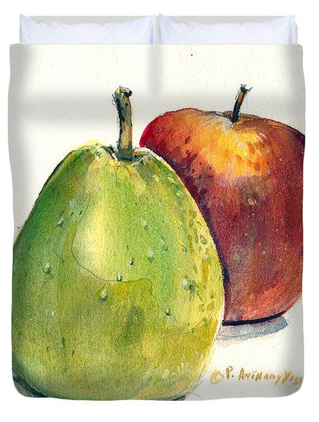 Juicy Fruit Duvet Cover