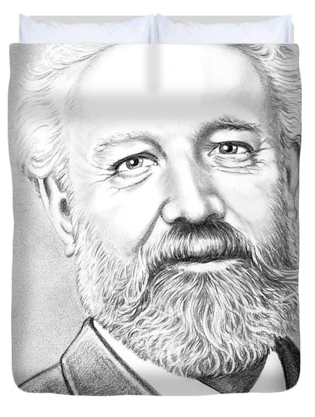 Jules Verne Duvet Cover by Murphy Elliott