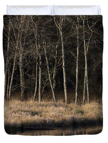Julia Butler Hansen Refuge For The Columbian White-tailed Deer Duvet Cover