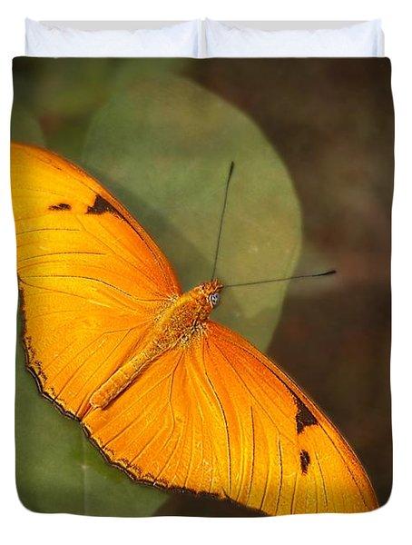Julia Dryas Butterfly-2 Duvet Cover