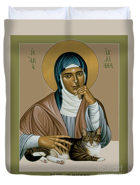 Julian Of Norwich - Rljon Duvet Cover