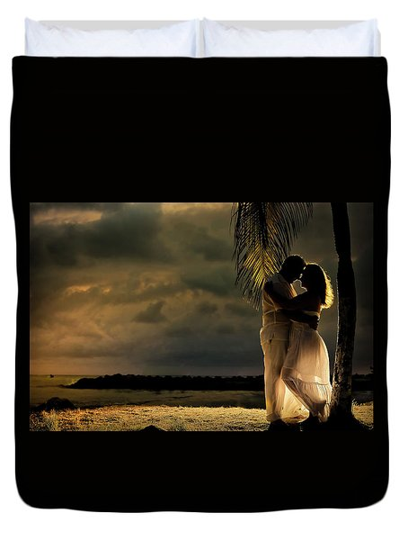 Julio And Blanca Riascos Duvet Cover